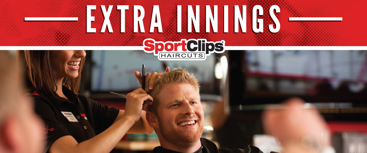 The Sport Clips Haircuts of James Island Extra Innings Offerings
